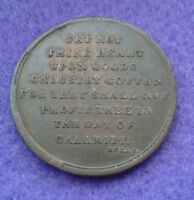 BIBLE READING MEDAL   C1800'S
