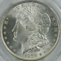 1878 8 TF MORGAN DOLLAR MS 64 PCGS