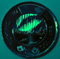BU UNC CANADA 1867 2017 150TH GLOW IN THE DARK DANCING OF SPIRITS $2 TOONIE COIN