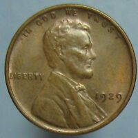 1929 LINCOLN CENT   ATTRACTIVE BROWN UNCIRCULATED