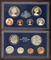 1981 ROYAL AUSTRALIAN MINT PROOF SET OF 6 COINS