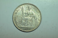 MW9488 FRENCH INDO CHINA; SILVER 20 CENTS 1937  KM17.2