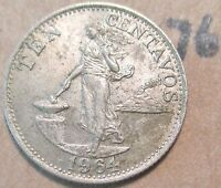 PHILIPPINES 1964 COIN 76