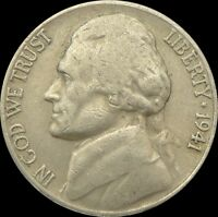 UNITED STATES / 1941 S / 5 CENTS /