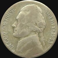 UNITED STATES / 1943 S / 5 CENTS /