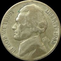 UNITED STATES / 1945 P / 5 CENTS /