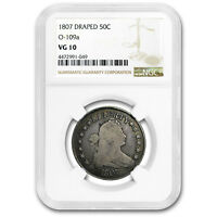 1807 DRAPED BUST HALF DOLLAR VG-10 NGC - SKU158720