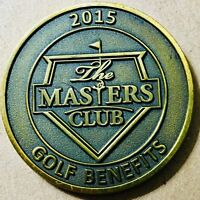 2015 THE MASTERS CLUB GOLF BENEFITS COMMEMORATIVE COIN