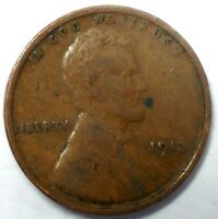 1913-P 1C LINCOLN WHEAT CENT 17LUO1809 ONLY 50 CENTS FOR SHIPPING2