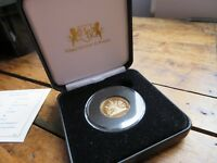 2016 QUEEN'S 90TH BIRTHDAY PROOF FULL GOLD SOVEREIGN COA TRI