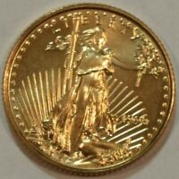 1998 AMERICAN GOLD EAGLE BU $5 ONE TENTH OUNCE COIN.