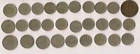 COLD WAR   LOT OF 29 RUSSIAN COMMUNIST COINS