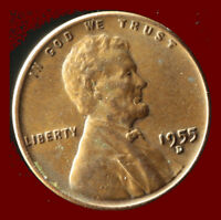 1955-D WHEAT CENT SHIPS FREE. BUY 5 FOR $2 OFF