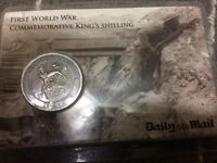 DAILY MAIL COMMEMORATIVE KING'S SHILLING