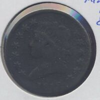 1812 CLASSIC HEAD US LARGE CENT. G-VG,MINOR DAMAGE AT CENTER OF REVERSE