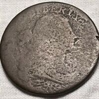 1796 DRAPED BUST LARGE CENT, S-110