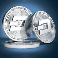 NEW TYPES BTC DASH LITECOIN ETHEREUM COINS CURRENCY COLLECTION PHYSICAL GIFT