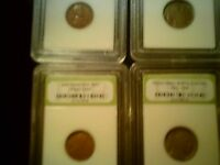 MIX SLABBED LOT EARLY US COINS