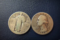 USA  2 QUARTER  DOLLAR  ONE WHERE NOT APPEAR THE YEAR AND ONE 1944