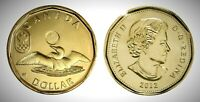 CANADA 2012 OLYMPIC LUCKY LOONIE BU UNC FROM MINT ROLL