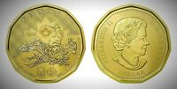 CANADA 2016 RIO OLYMPICS LUCKY LOONIE BU UNC FROM MINT ROLL