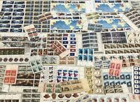 VARIETY LOT  UNUSED US POSTAGE STAMPS  FACE VALUE $67.00   2 CHRISTMAS SHEETS
