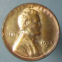 1935 D LINCOLN CENT    BEAUTIFULLY TONED GEM BU