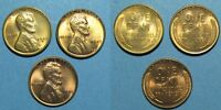 1949 P D S LINCOLN CENTS   FULL RED CHOICE BU OR BETTER  INDIVIDUAL PHOTOS