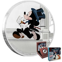 2017 MICKEY THROUGH THE AGES: MICKEY'S DELAYED DATE 1OZ SILV