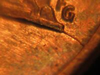 1989 P LINCOLN PENNY WITH REVERSE DIE CRACK ERROR