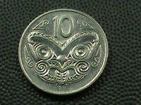 NEW ZEALAND  10 CENTS   1980       $ 2.99  MAXIMUM  SHIPPING  IN  USA