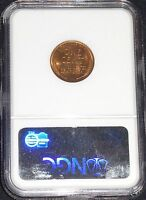 1945-S LINCOLN WHEAT CENT- NGC MINT STATE 66 RED GEM BRILLIANT UNCIRCULATED    76-088