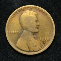 1912-D LINCOLN WHEAT CENT BB1119
