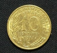 1977 FRANCE COIN 10 CENTIMES 1557