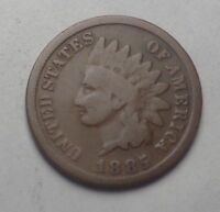 1885 INDIAN HEAD CENT, TOUGHER DATE
