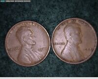 1909 & 1909 VDB LINCOLN CENTS   61-112