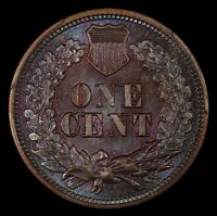 SUBLIMELY TONED 1864 INDIAN HEAD CENT PCGS MS DETAILS LATHE LINES S 11.