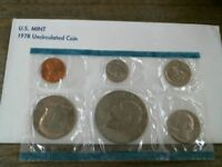 UNITED STATES MINT SET 1978 UNCIRCULATED COIN SET  BE8004807