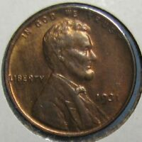 1931 LINCOLN CENT   CHOICE BROWN UNCIRCULATED WITH SOME MINT RED