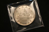 1936 CANADA SILVER DOLLAR. HIGH GRADE KING GEORGE V ONE YEAR TYPE COIN