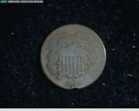 1864 2C TWO CENT CIVIL WAR COIN   34-137