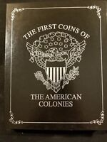 THE FIRST COINS OF THE AMERICAN COLONIES SET