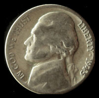 1945 D 35  SILVER WAR NICKEL SHIPS FREE. BUY 5 FOR $2 OFF