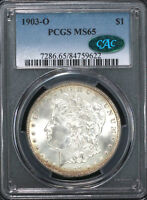 1903 O $1 PCGS MINT STATE 65 CAC - 84759622