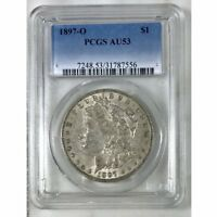 1897 O MORGAN DOLLAR PCGS AU53 REV TYE'S 7556110