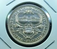 1927 AUSTRALIA UNCIRCULATED PARLIAMENT HOUSE STERLING SILVER