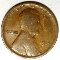 1914-P  1C LINCOLN WHEAT CENT 18AT0927 ONLY 50 CENTS FOR SHIPPING