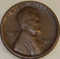 1916-S 1C LINCOLN WHEAT CENT A2417UOC ONLY 50 CENTS FOR SHIPPING