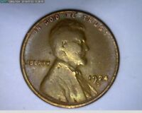 1924 D 1C LINCOLN WHEAT CENT  38-279