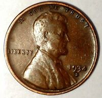 1934-D 1C LINCOLN WHEAT CENT 17LAC0107-1  ONLY 50 CENT SHIPPING